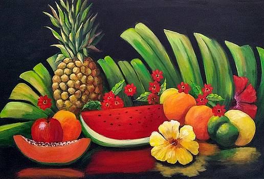 Tropical Fruit by Rosie Sherman