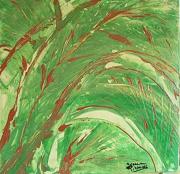 Tropical green by Jenell Richards