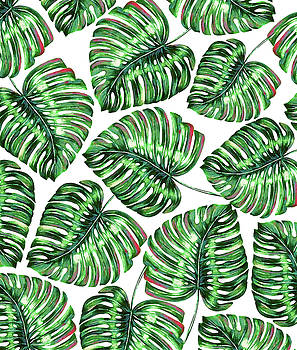 Tropical Greenery by Uma Gokhale