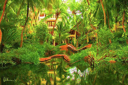 Tropical Hideaway by John Brennan