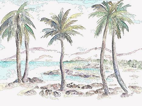 Tropical Island by Elizabeth Lock