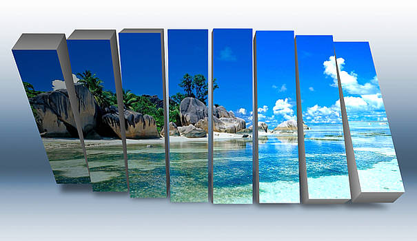 Tropical Island by Marvin Blaine