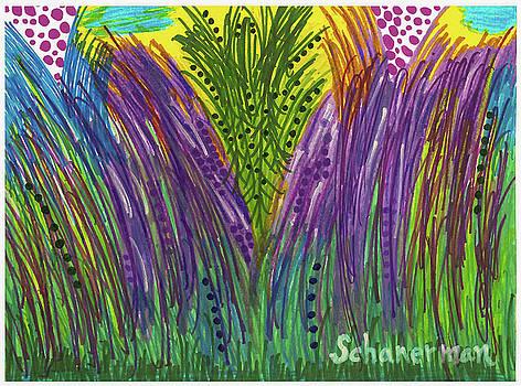 Tropical Jungle by Susan Schanerman