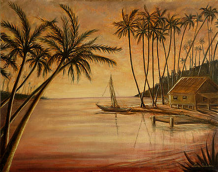 Tropical Lagoon by Lance Anderson