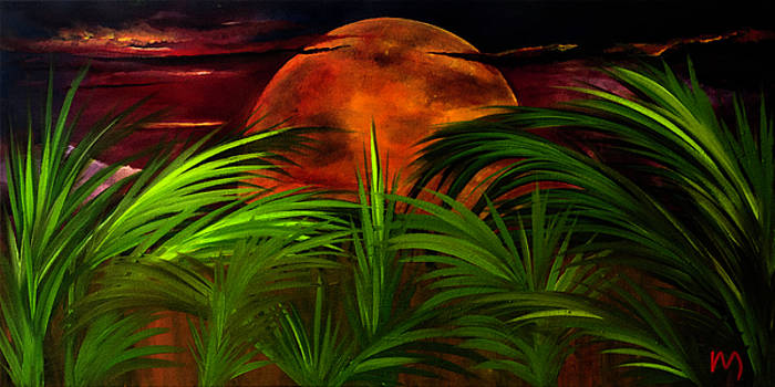 Tropical Moon by Rolly Mouchaty
