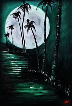 Island Moon Turquoise by Rolly Mouchaty