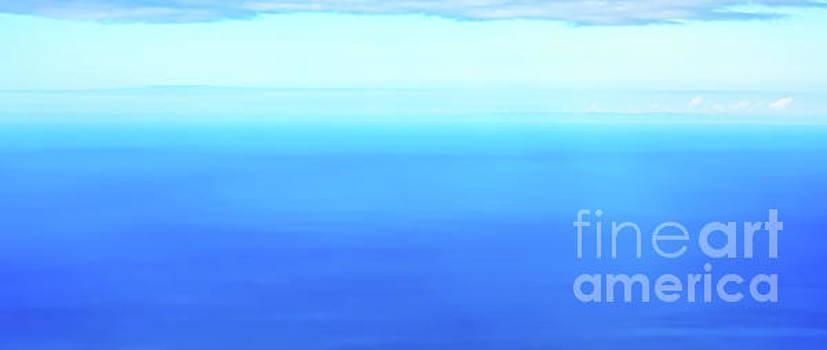 Tropical Ocean panorama by Jan Brons
