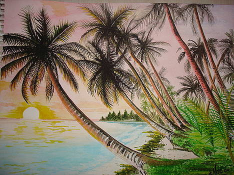 Tropical Paradise by Jorge Luis  Iniguez
