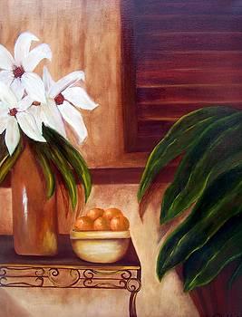 Tropical Potpouri  SOLD by Susan Dehlinger