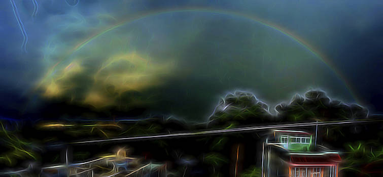 Tropical Rainbow by William Horden