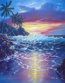 Tropical Seascape by Daniel Bergren