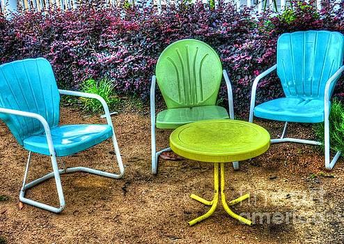Tropical Seats by Debbi Granruth