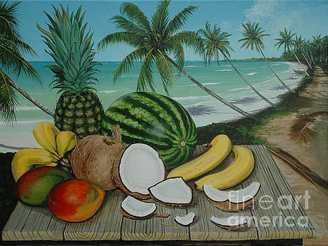 Tropical Still Life by Michael Nowak