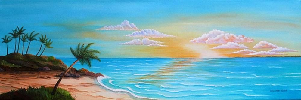 Tropical Sunrise by Carol Sabo