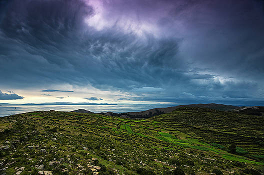 Troubled Titicaca by Aaron Bedell