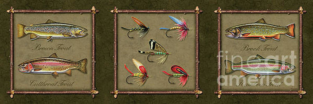 Jon Wright - Trout And Fly Panel
