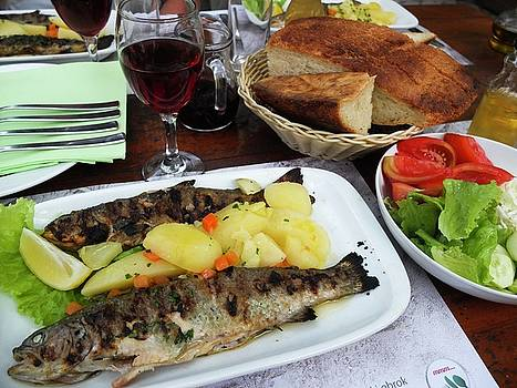 Trout grilled by Olga Kurygina