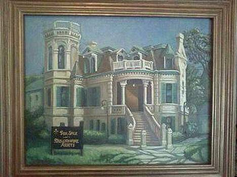 Trube Castle in Galveston by Sherry McClendon