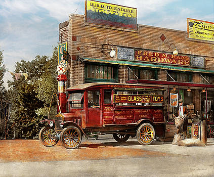 Mike Savad - Truck - Delivery - Haas has it 1924