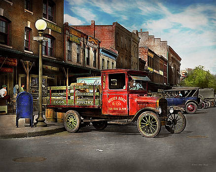 Mike Savad - Truck - Home dressed poultry 1926