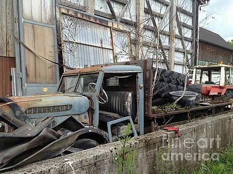 Truck by Kunst mit Herz Art with Heart