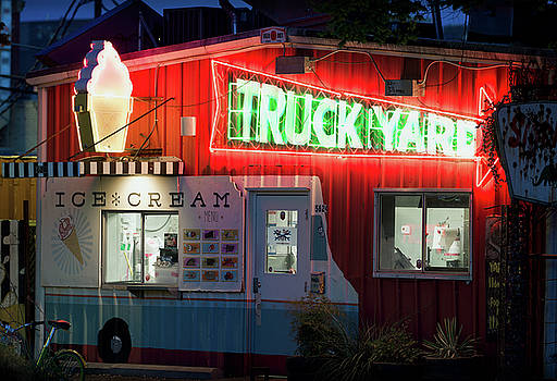 Truck Yard Neon 062018 by Rospotte Photography