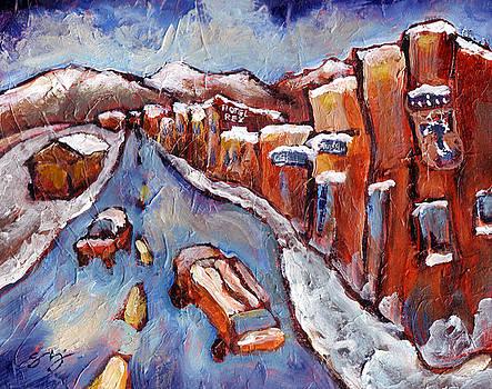 Truckee First Snow by Sara Zimmerman