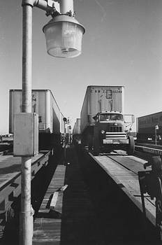 Chicago and North Western Historical Society - Trucks Prepped for Piggyback Switch in Proviso