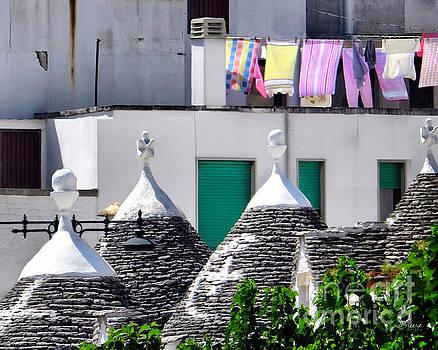 Trulli Laundry by Jennie Breeze