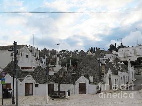 Trulli Village Alberobello by Laurie Morgan