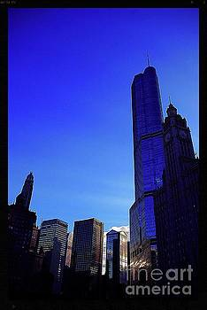 Frank J Casella - Trump International Hotel and Tower Chicago at Sunset