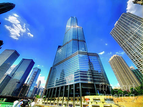 Trump tower Chicago il  by Tom Jelen