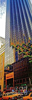 Trump tower New York City Manhattan vertical  by Tom Jelen