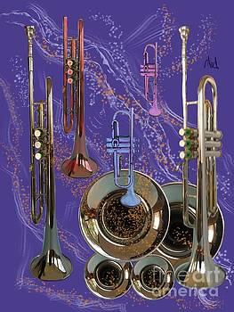 Trumpet Celebration by Janice Abel