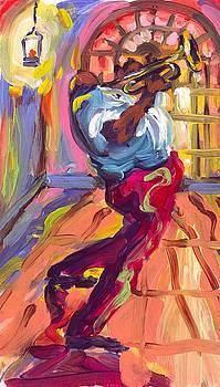 Trumpet in the Glow by Saundra Bolen Samuel