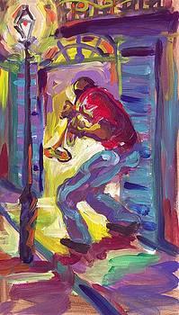 Trumpet in the Streets by Saundra Bolen Samuel