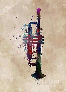 Justyna Jaszke JBJart - trumpet music art