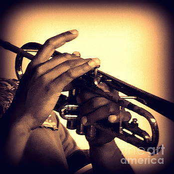 Trumpet one  by Jeanette Brown
