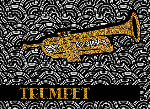 Trumpet Tunes by Cecely Bloom