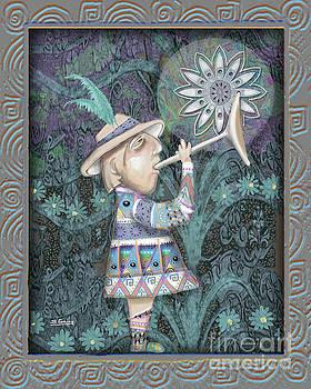 Trumpeter In My Garden by Shane Guinn