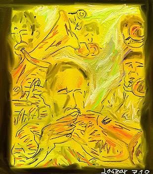 Trumpeter by Lazar Caran