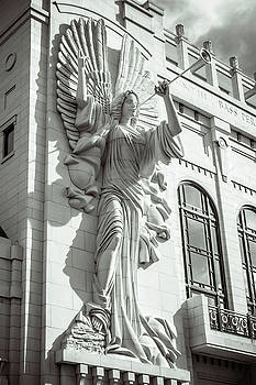 Trumpeting Angel by Guy Whiteley