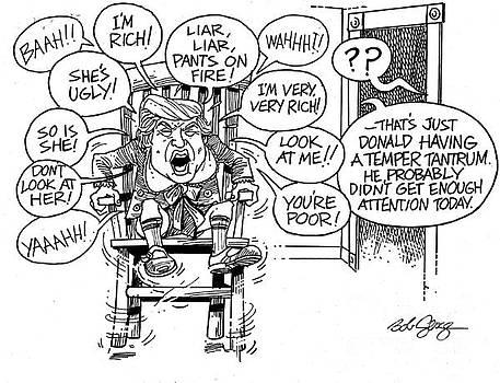 Trumptempertantrum by Bob George