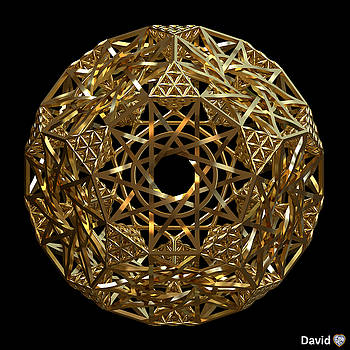 Truncated Hyper Dodecahedron by David Diamondheart
