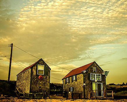Truro Beach Houses by Frank Winters