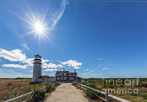 Truro lighthouse by Miro Vrlik