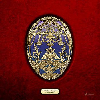 Serge Averbukh - Tsarevich Faberge Egg on Red Velvet