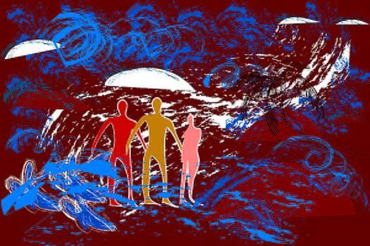 Tsunami by Sugato Dhar