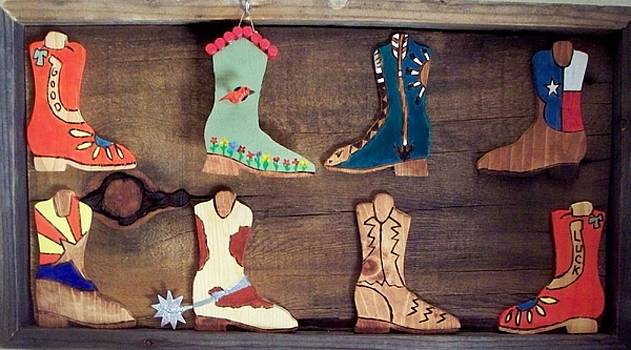 These Boots are made  for walking by Patrick Trotter