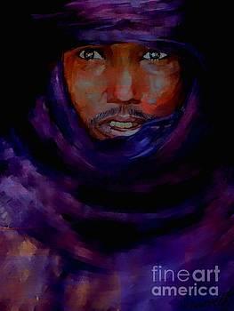 Tuareg Nomad Mali by Vannetta Ferguson